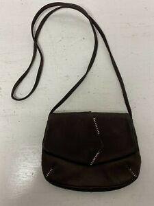Radley London Ladies Dark Brown Leather Shoulder Crossbody Bag Handbag A74