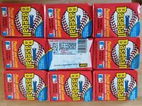 LOT OF 9 1988 Donruss  LEAF Wax Pack Cards And Puzzle Factory Sealed HOF VINTAGE