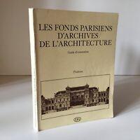 Genevieve Ruyssen Las Fondo Parisinos Archivos Arquitectura Ebay 1981