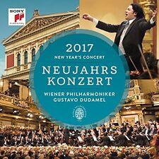Concerto di Capodanno 2017-Gustavo Dudamel/Vienna Filarmonica 2 CD NUOVO