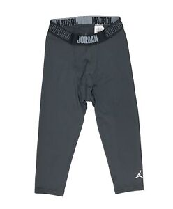 NIKE AIR JORDAN ALPHA 23 DRY 3/4 Training Tights Pants Grey Men's Small S 865868