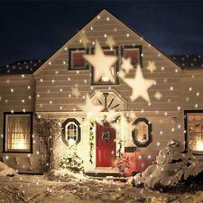 LED Gartenleuchte Licht Projektor Outdoor Sternen Party Lichteffekte Warmweiß