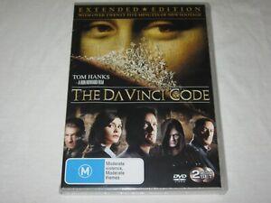 The Da Vinci Code - Extended Edition - Brand New & Sealed - Region 4 - DVD