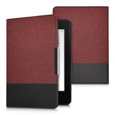Funda para Amazon Kindle Paperwhite rojo oscuro flip cover case eReader piel sintética