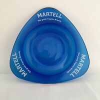 Martell Cognac Blue Glass Ashtray The Great Cognac Brandy