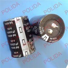 1PC AUDIO Electrolytic Capacitor PANASONIC(size)35*50mm 10000UF80V/80V10000UF