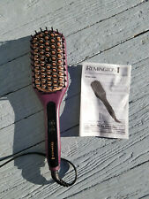 Remington CB7480 Pro 2-In-1 Heated Straightening Hair Brush w/ Instructions