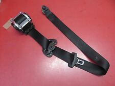 2008-2010 BMW 528xi E60 LCI OEM LEFT FRONT DRIVER SEAT BELT ASSEMBLY BLACK