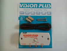 Vision Plus VP2 Digital Amplifier 4 Caravan Television TV Aerial Signal Booster
