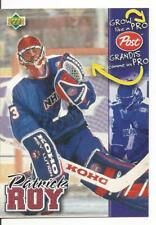 1996-97 Upper Deck Post Cereal Patrick Roy Grow Like a Pro Mint