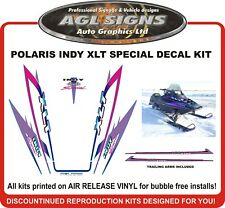 1995 POLARIS INDY XLT 600 Special Reproduction Decal Kit  graphics stickers