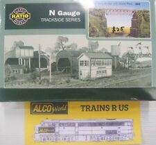 Ratio Plastic N Scale Model Train Parts & Accessories
