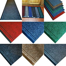 Premium Non-Slip Rug Door Mat Carpet Runner Hallway Car Boot Liner Cut To Length