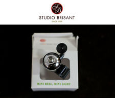 NEW Clip Mini Messing Bell Glocke Klingel Rennrad zum anstecken * reddot design