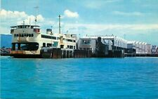 Postcard Penang / Butterworth Ferry at Dock, Penang, Malaysia