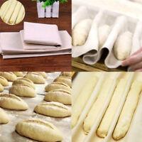 New Proofing Kitchen Linen Bread Fermented Baguette Mat Cloth Flax Dough Baking