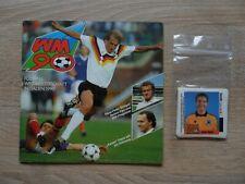 nutella Stecktabelle Bundesliga 1999 bis 2000 Fussball Werbung Ferrero leer