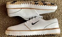 Nike Janoski G Tour Golf Cleats, Size 15, White, New W/O Box, BV8070-100