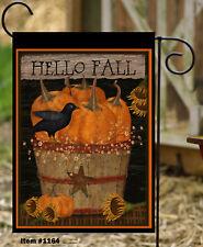 Hello Fall  Double Sided Flag  **GARDEN SIZE**   FG1164