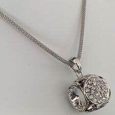 Luxury Crystal Fashion Pendant Necklace made with Swarovski Elements Jewellery