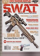 S.W.A.T. MAGAZINE JUNE 2016, SURVIVAL WEAPONS AND TACTICS.
