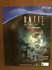 """PS4 Magnet Poster; UNTIL DAWN, 13 1/2"""" X 17"""""""