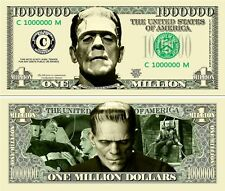 Frankenstein Monster Classic-Style Million Dollar Bill Funny Money Novelty Note