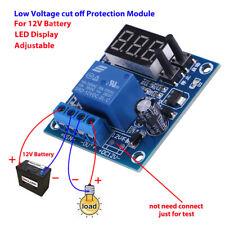 12V Battery Low Voltage Undervoltage Anti-Over Discharge Protection Board LED p
