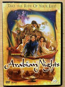 Arabian Nights DVD 2000 Epic Hallmark Mini Series w/ Alan Bates + Rufus Sewell