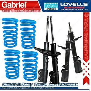 Front Rear Gabriel Ultra Shocks + Coil Springs For Toyota Avalon MCX10 I II