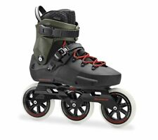 Rollerblade Twister Edge 110 3WD Black / Army green Freestyle Inline Skates