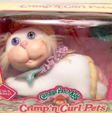 NEW IN BOX -CABBAGE PATCH CRIMP'N CURL PETS KITTY CAT - Hasbro 1992 VINTAGE