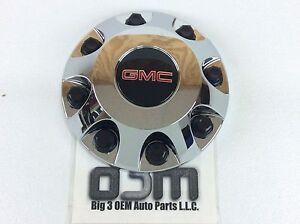 2011-2015 GMC Sierra 2500 HD 3500 Front Center Hub Cap Chrome with Logo new OEM