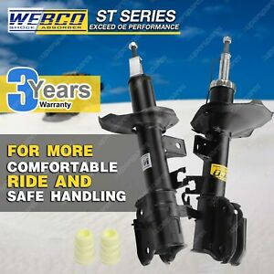 Pair Front Webco Pro Strut Shock Absorbers for NISSAN ELGRAND E50 Wagon 99-02