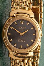 $20,000 Rolex Cellini Mens Ladies 34mm 18k Yellow Gold Dress Watch BOX & PP 103g