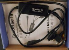 GrabBee III USB 1.1 Audio/Video Grabber with Ulead Software