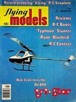 Vintage Flying Models Magazine January 1976 Du-Bru Tri-Star m278