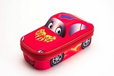 PENCIL CASE BOX SPORT CAR RED MAXI'S DESIGNS