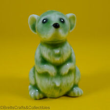 Wade Whimsies - (2008) Wade Collectors Fair Special Issue - Green Mouse