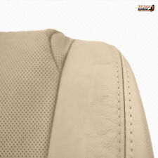 2010 Lexus IS250 IS350 - Front Driver Bottom Perforated Leather Seat Cover Tan