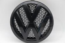 Orig VW T5 Facelift T5 GP VW Emblem Kühlergrill Logo Blende schwarz 7E0853601D