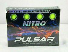 Nitro~Pulsar~12 Yellow Golf Balls Brand New Low Compression