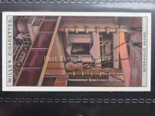 No.16 HYDRAULIC PRESS, UK Engineering Wonders W.D.& H.O. Wills 1927