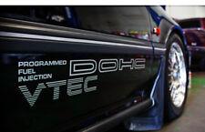 JDM 88-91 Honda CRX Civic Dohc Vtec/Calcomanía. Sir b16a OEM de inyección de combustible b18 b20
