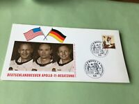 Germany Apollo 11 1969  Stamp Card  Ref 52148