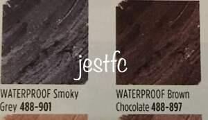 Avon TRUE COLOUR Glimmerstick Waterproof Eyeliner SMOKY GREY / BROWN CHOCOLATE