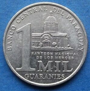 """PARAGUAY - 1000 guaranies 2008 """"National Heroes"""" KM# 198 - Edelweiss Coins"""