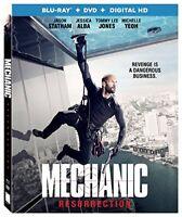 Mechanic Resurrection [Blu-ray + DVD + Digital HD]New, Free shipping