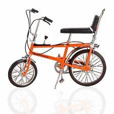 TW41600 Toyway Raleigh Chopper Mk1 Orange Bicycle Diecast Metal Model 1:12 Scale