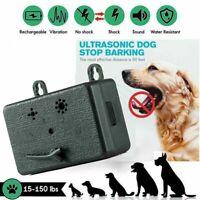 Waterproof Ultrasonic Anti-Barking Device Dog Bark Control Sonic Silencer Tool L